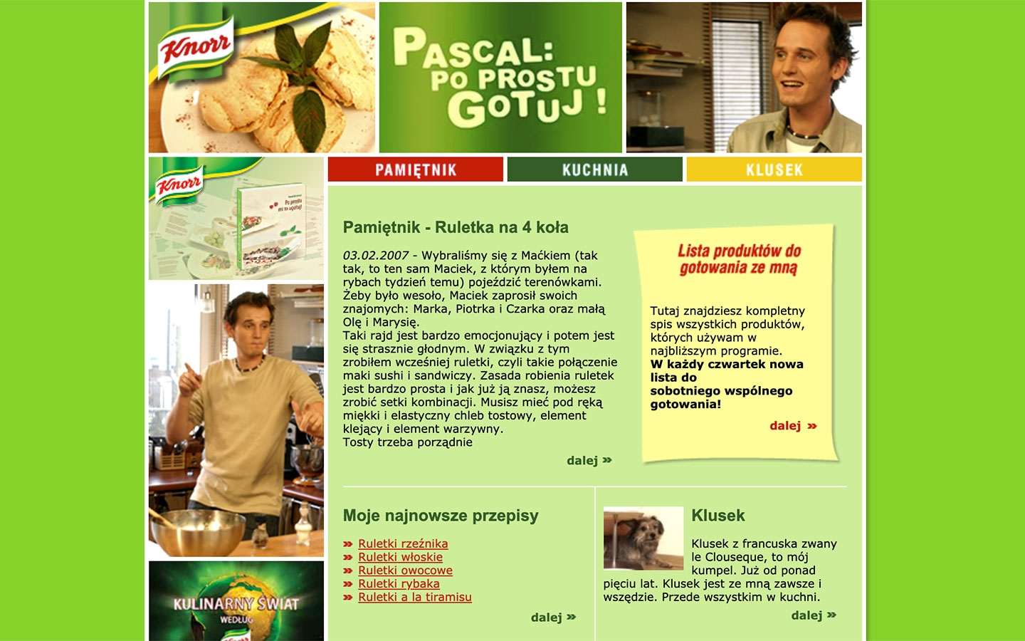 Pascal: Po Prostu Gotuj! | poprostugotuj.onet.pl | 2004 (Screen Only 03) © echonet communication