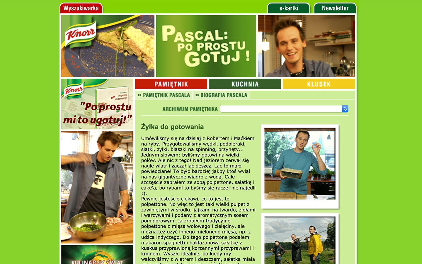 Pascal: Po Prostu Gotuj! | poprostugotuj.onet.pl | 2004 (Screen Only 05) © echonet communication