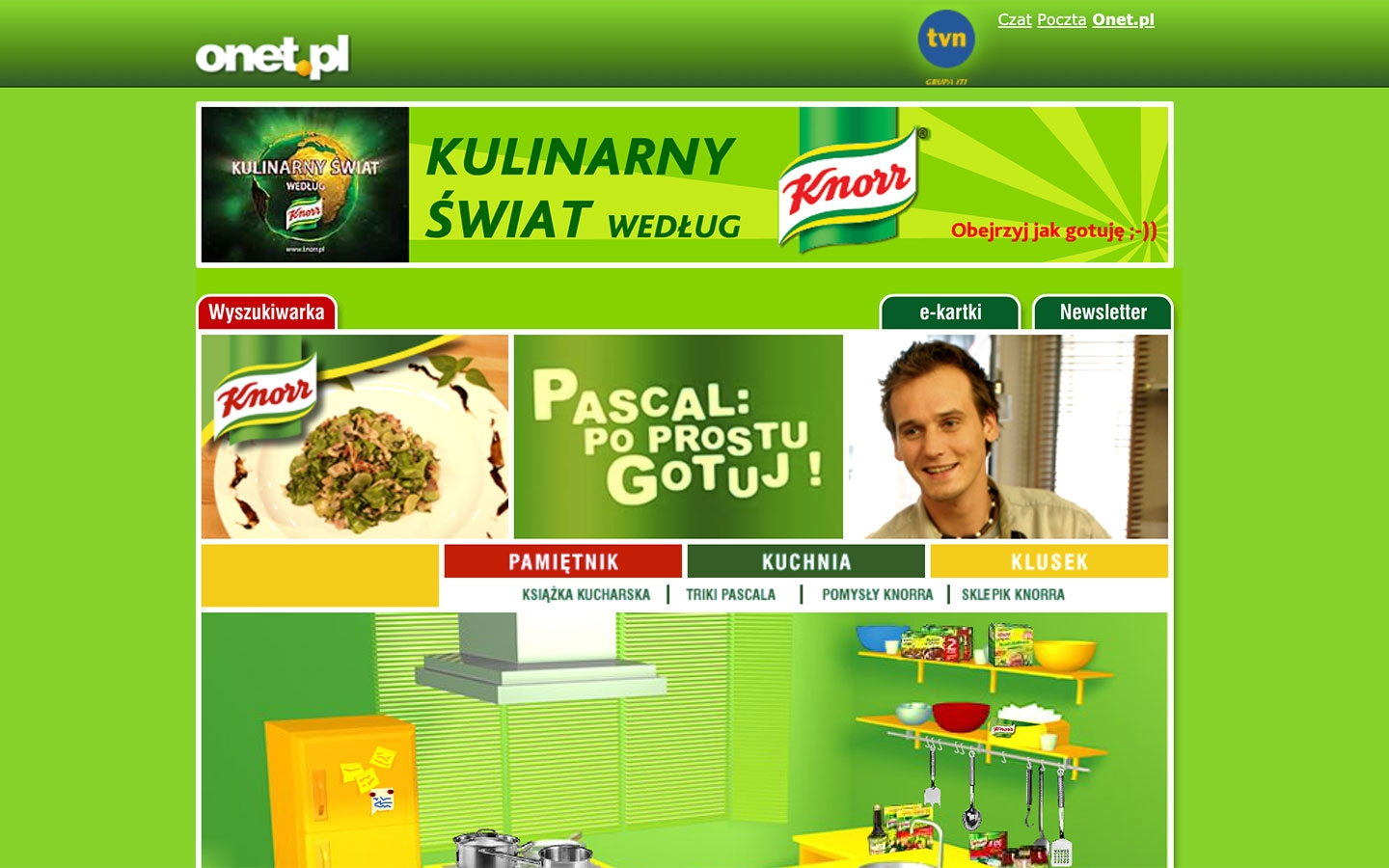 Pascal: Po Prostu Gotuj! | poprostugotuj.onet.pl | 2004 (Screen Only 08) © echonet communication